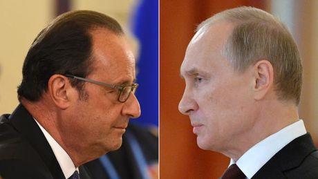 Putin huy tham Phap vi bat dong van de Syria - Anh 1