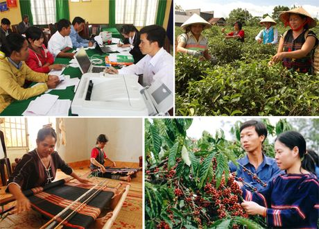 Du no tin dung tren dia ban Tay Nguyen tang hon 11% - Anh 1