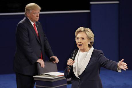 NBC News: 'Ba Clinton thang trong cuoc tranh luan lan 2' - Anh 1