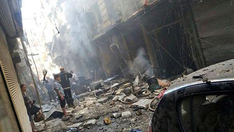 Canh bao nguy co va cham giua Nga va My o Syria - Anh 1