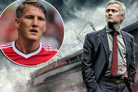 BAN TIN The thao: Mourinho ban thao Schweinsteiger - Anh 1