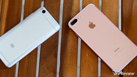 Do hieu nang: Xiaomi Mi 5s bep nhu gian truoc iPhone 7 Plus - Anh 1