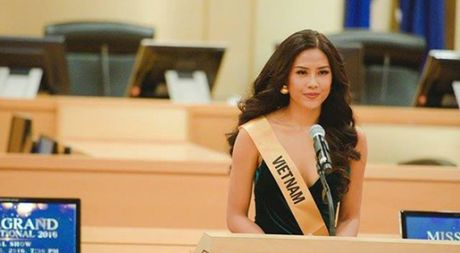Nguyen Thi Loan mang thong diep 'Cham dut chien tranh va bao luc' toi My - Anh 1