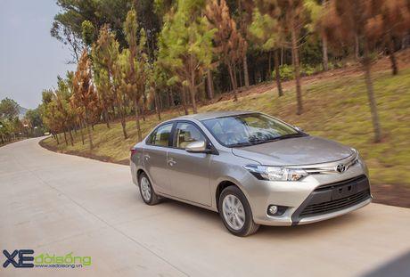 Danh gia Toyota Vios 2016 moi: gai dung cho ngua! - Anh 10