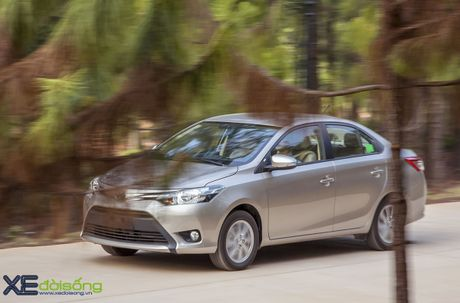 Danh gia Toyota Vios 2016 moi: gai dung cho ngua! - Anh 11