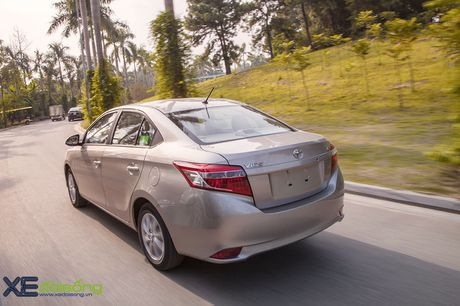 Danh gia Toyota Vios 2016 moi: gai dung cho ngua! - Anh 12