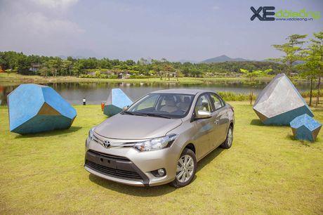 Danh gia Toyota Vios 2016 moi: gai dung cho ngua! - Anh 1