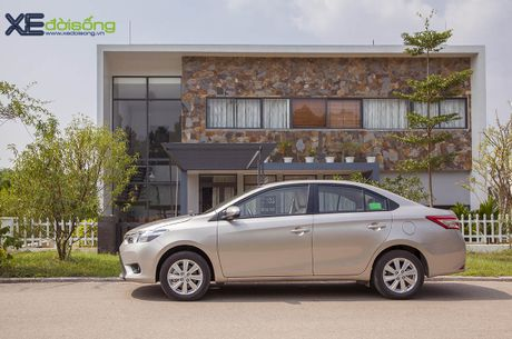 Danh gia Toyota Vios 2016 moi: gai dung cho ngua! - Anh 7