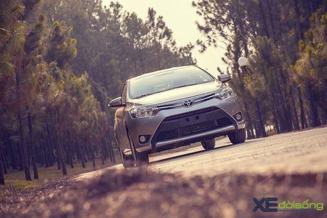 Danh gia Toyota Vios 2016 moi: gai dung cho ngua! - Anh 9