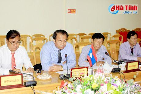 Ha Tinh giup Lao trien khai du an thuy loi tai Kham Muon dam bao tien do, chat luong - Anh 2