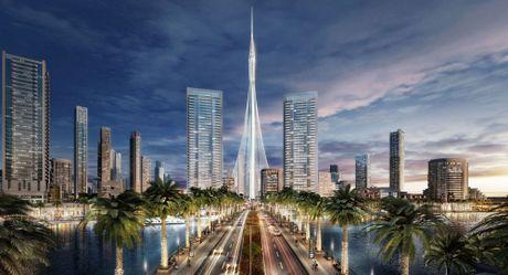 Dubai bat dau xay dung toa thap cao nhat the gioi - Anh 1