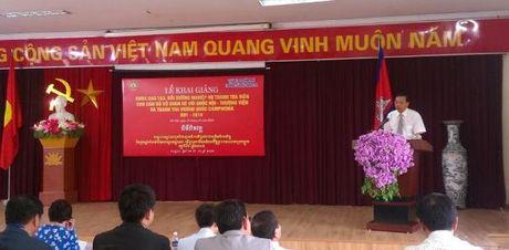 Khai giang lop boi duong nghiep vu thanh tra cho Campuchia - Anh 1