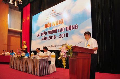 Hoi nghi dai bieu Nguoi lao dong EVN Ha Noi nam 2016 - Anh 1