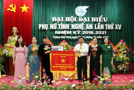 Dong chi Le Thi Tam tai cu Chu tich Hoi Lien hiep Phu nu tinh - Anh 1