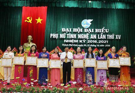 Dong chi Le Thi Tam tai cu Chu tich Hoi Lien hiep Phu nu tinh - Anh 3
