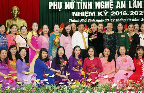 Dong chi Le Thi Tam tai cu Chu tich Hoi Lien hiep Phu nu tinh - Anh 4