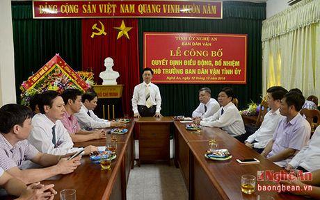 Bi thu Huyen uy Con Cuong nhan nhiem vu Pho Truong ban Dan van Tinh uy - Anh 2