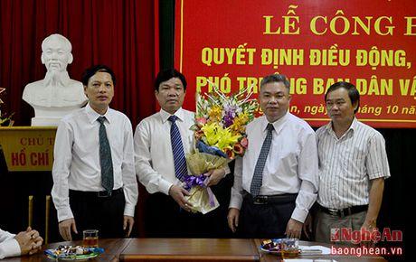 Bi thu Huyen uy Con Cuong nhan nhiem vu Pho Truong ban Dan van Tinh uy - Anh 3