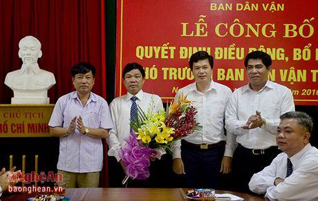 Bi thu Huyen uy Con Cuong nhan nhiem vu Pho Truong ban Dan van Tinh uy - Anh 4