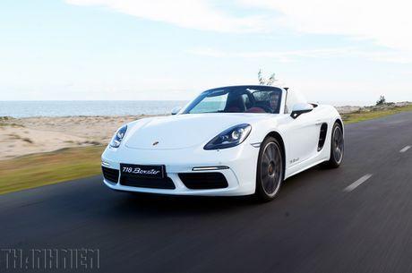 Porsche 718 Boxster - xe the thao kien tao cam xuc - Anh 5