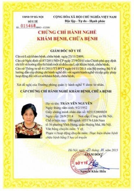 Nha thuoc Thuan Phong chua khoi vinh vien benh di ung co dia - Anh 1