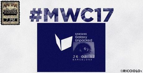 Galaxy S8 se ra mat ngay 26/2 nam sau voi bao mat quet mong mat - Anh 1