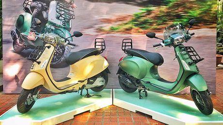Vespa Sprint 125 ABS co them phien ban dac biet tai Viet Nam - Anh 1