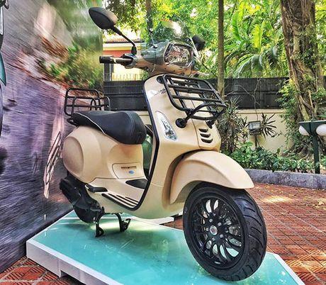 Vespa Sprint 125 ABS co them phien ban dac biet tai Viet Nam - Anh 5