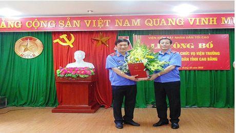 Vien KSND Cao Bang co Vien truong moi - Anh 1