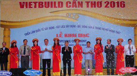 Khai mac Trien lam Quoc te VietBuild Can Tho - Anh 1