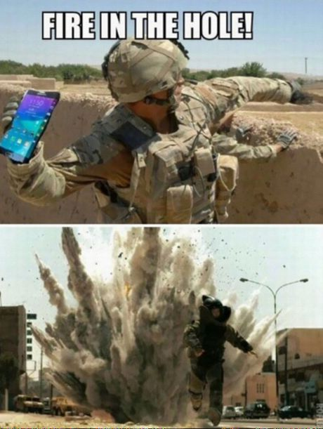 "Anh che ""doc"": Bien Galaxy Note 7 thanh luu dan! - Anh 2"