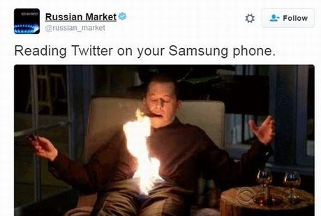 "Anh che ""doc"": Bien Galaxy Note 7 thanh luu dan! - Anh 4"