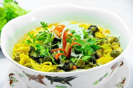 Hap dan mon bun lam tu bap chi co o Phu Yen - Anh 1