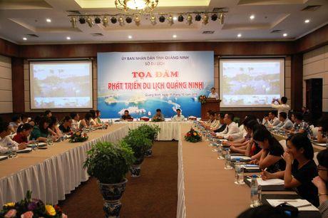 Quang Ninh to chuc toa dam tim giai phap phat trien du lich - Anh 1
