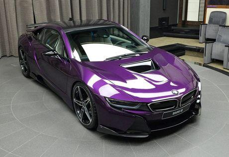 Man nhan voi BMW i8 mau tim doc la mang ten 'Chang Vang' - Anh 9