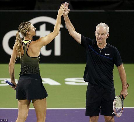 Bup be Nga Sharapova 'tha dang' tren san tennis gay quy tu thien - Anh 5