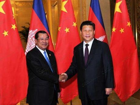 Trung Quoc va Campuchia tang cuong quan he doi tac chien luoc - Anh 1