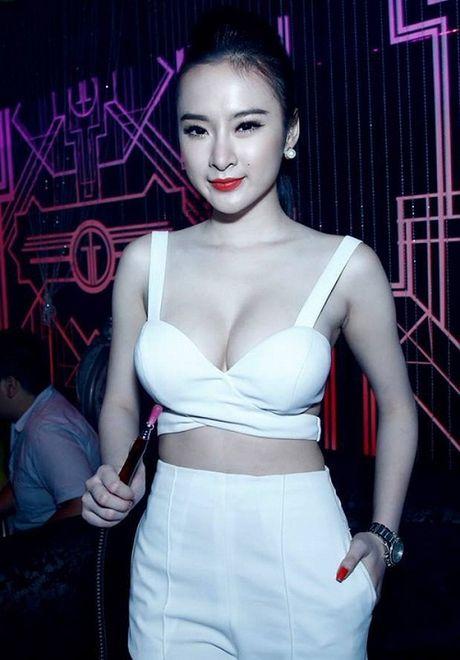 Dien mot khong noi y, Angela Phuong Trinh tha ho khoe 'sieu vong 1' - Anh 2