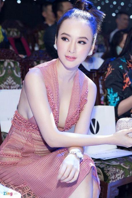 Dien mot khong noi y, Angela Phuong Trinh tha ho khoe 'sieu vong 1' - Anh 8