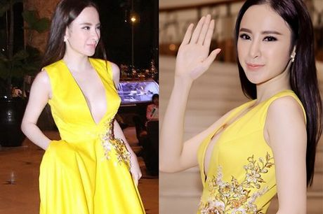 Dien mot khong noi y, Angela Phuong Trinh tha ho khoe 'sieu vong 1' - Anh 9