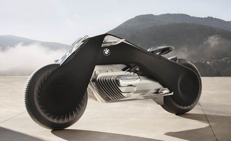 'Choang' voi BMW Motorrad Vision Next 100 tu dieu khien - Anh 1