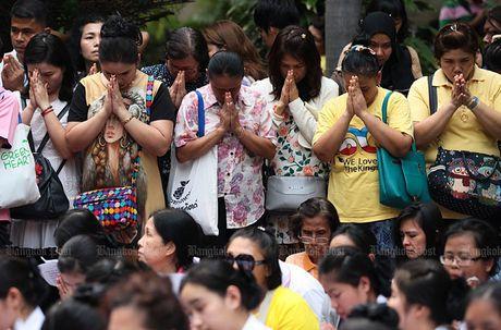 Hang nghin dan do ve Bangkok cau nguyen cho vua Thai Lan - Anh 3