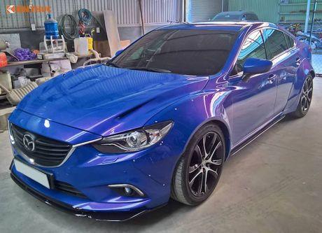 Sedan Mazda 6 do widebody 'doc nhat' Viet Nam - Anh 1