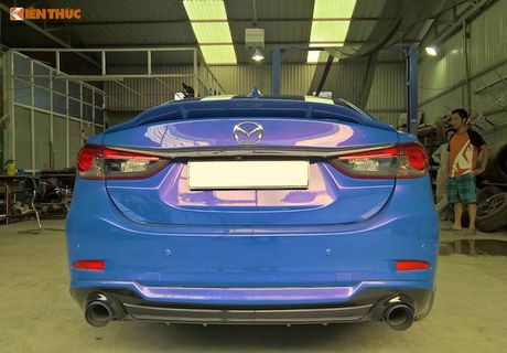 Sedan Mazda 6 do widebody 'doc nhat' Viet Nam - Anh 7