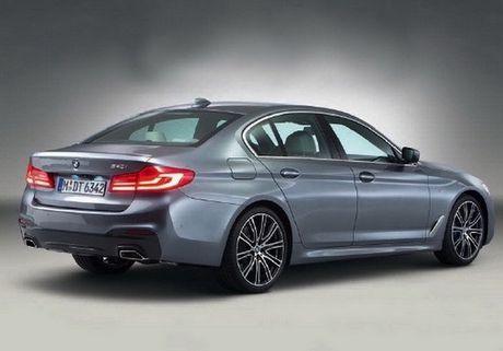 BMW 5 Series 2017 lo hinh 'khong che' truoc gio G - Anh 2