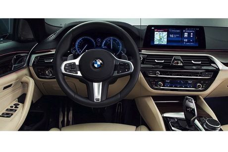 BMW 5 Series 2017 lo hinh 'khong che' truoc gio G - Anh 3