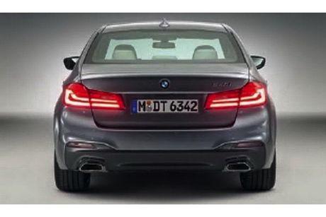 BMW 5 Series 2017 lo hinh 'khong che' truoc gio G - Anh 4
