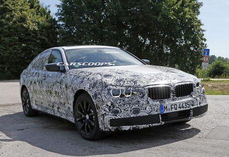 BMW 5 Series 2017 lo hinh 'khong che' truoc gio G - Anh 6
