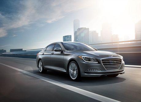 Hyundai Tucson va Genesis duoc vinh danh dung dau ve cong nghe - Anh 1