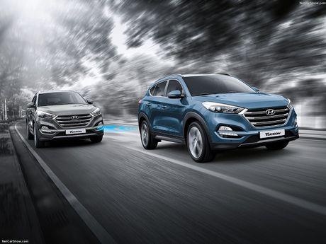 Hyundai Tucson va Genesis duoc vinh danh dung dau ve cong nghe - Anh 2